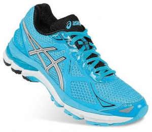 Turquoise Trainers: Asics(R) running shoes from Kohl's. $89.99 before promos.