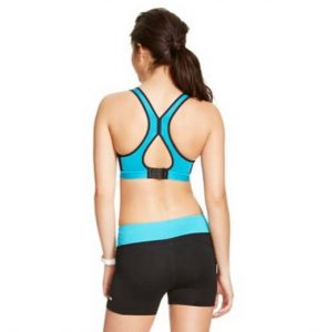 Gotta love a back that's stylin' -- they'll catch a glimpse when you run by. C-9 Champion(R) power shape sports bra from Target. $19.99